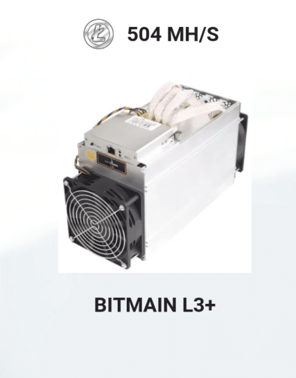 picture of Bitmain Antminer L3 plus