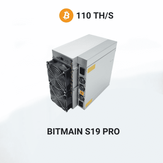 picture of Bitmain Antminer S19 PRO