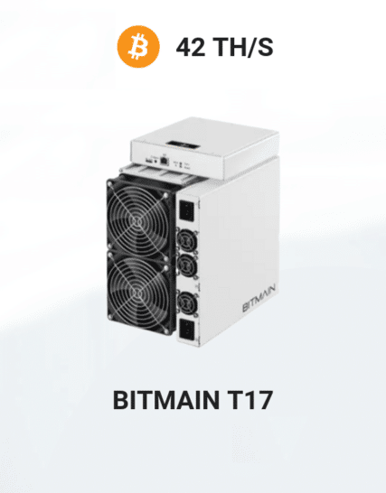 picture of Bitmain Antminer T17 42