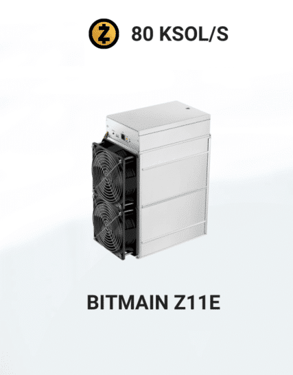 picture of Bitmain Antminer Z11E 80