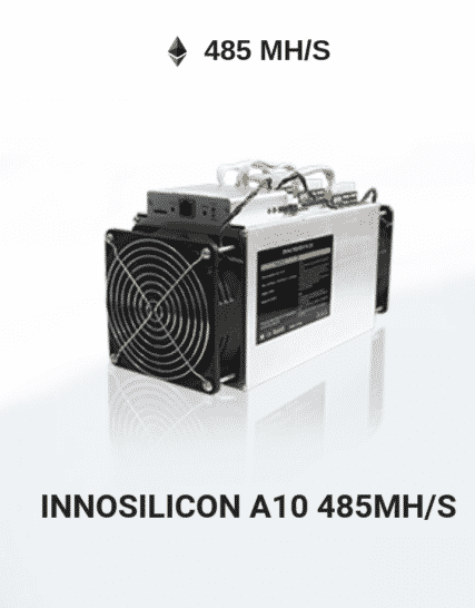 Picture of Innosilicon A10 485 MHS ETHMaster
