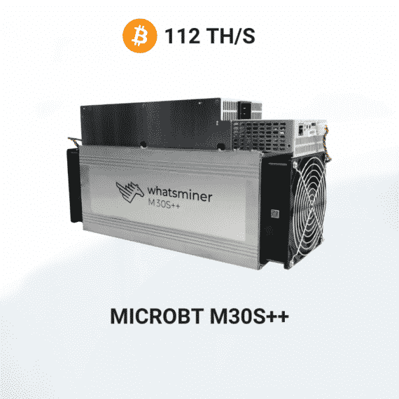 Picture of MicroBT Whatsminer M30S Pluss Pluss